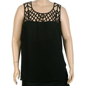 City Chic Cage Tank Top